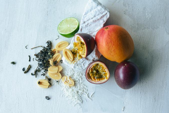 Mr.CHEESECAKE UN ÉTÉ mango passion(ミスターチーズケーキ アンネテ マンゴーパッション) 使われているフルーツ