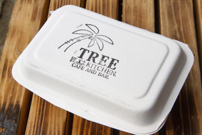 「CAFE & BAR TREE」テイクアウトケース