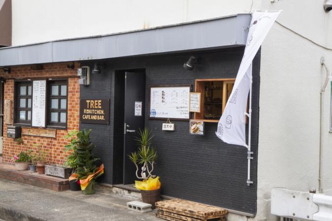 CAFE&BAR TREE(カフェ&バー ツリー)外観