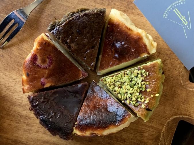 BOUTONNIERE(ブートニエール)チーズケーキセット