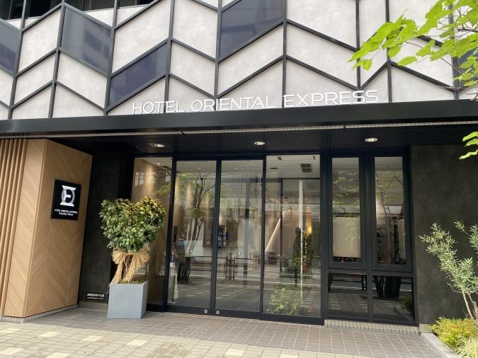 ホテル オリエンタル エクスプレス 福岡天神 外観