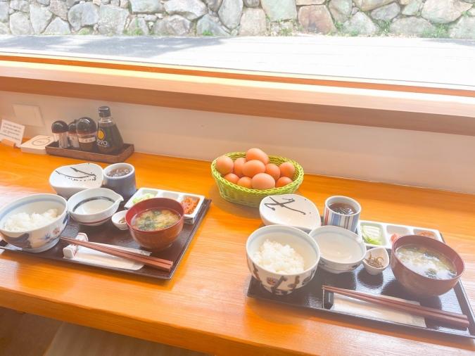 糸島ファームハウスUOVO(ウォーヴォ) 極上の卵かけご飯膳