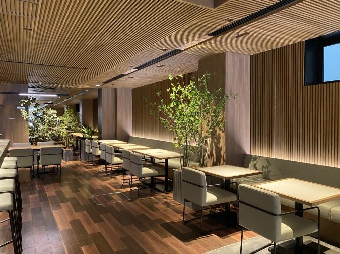 ホテル オリエンタル エクスプレス 福岡中洲川端 ロビー
