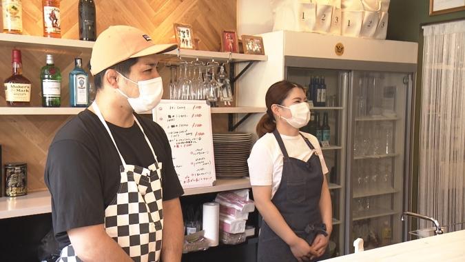 「KACHINA」の店主・平野夫妻