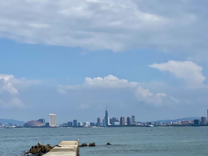 能古島アイランドカレー お店周辺からの景色
