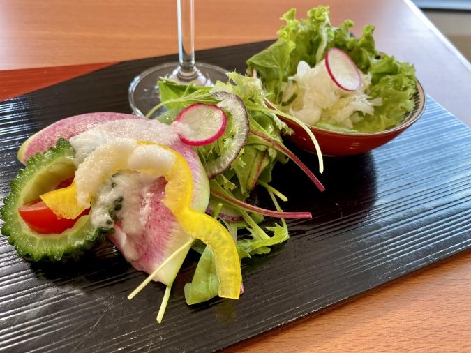 能古島アイランドカレー 野菜