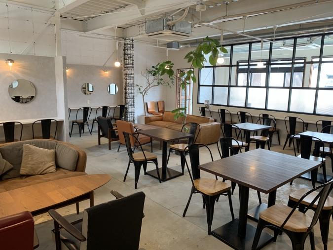 『3°C cafe(サンドウカフェ)』店内
