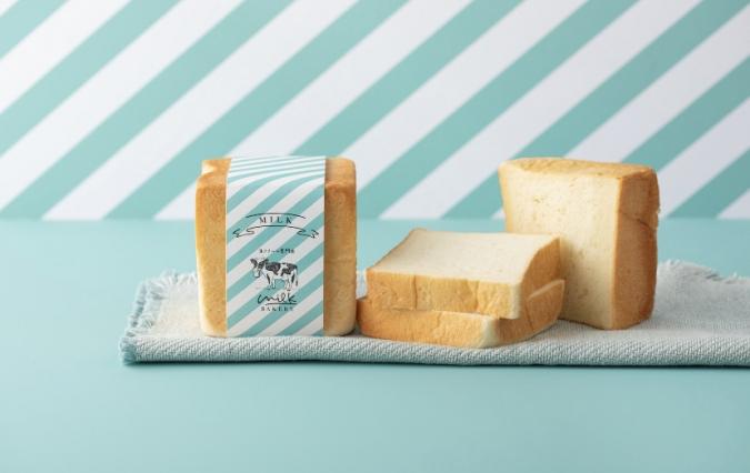 「MILK BAKERY」の特濃ミルク食パン