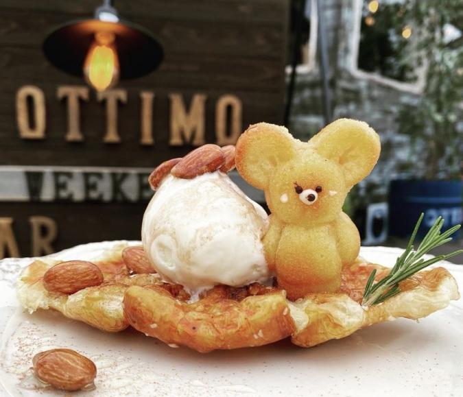 YAKIGASHI CAFE ottimo(焼き菓子カフェ オッティモ)クロッフル