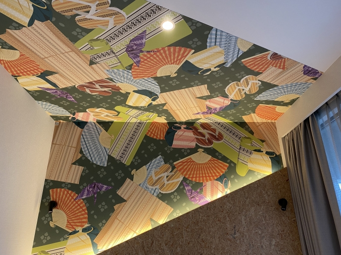 lyf Tenjin Fukuoka(ライフ天神福岡)客室の天井