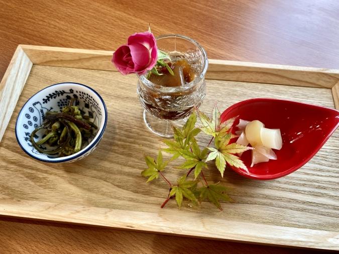 能古島アイランドカレー カレーランチコース 前菜