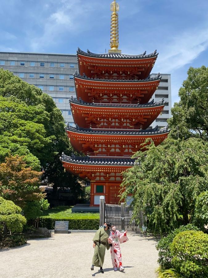東長寺(とうちょうじ) 五重塔