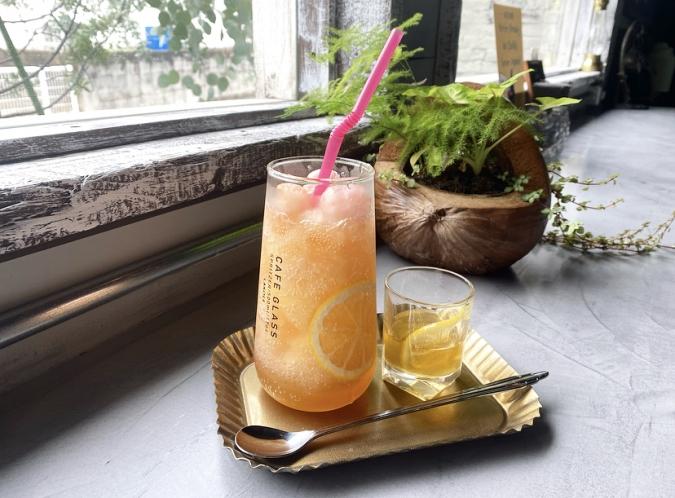 YAKIGASHI CAFE ottimo(焼き菓子カフェ オッティモ)ピンクレモンかき氷