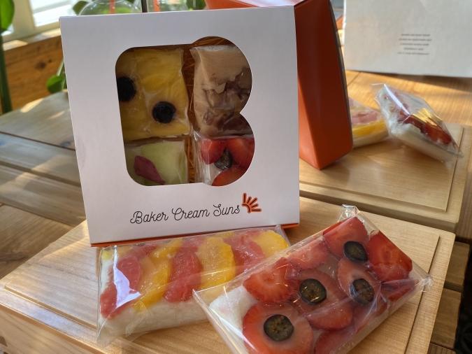 Baker Cream Suns(ベーカークリームサンズ)オープンサンドのBOX