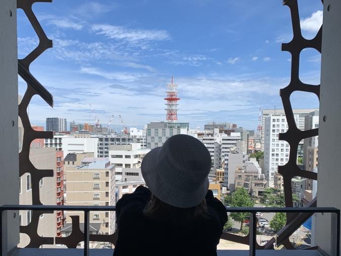 lyf Tenjin Fukuoka(ライフ天神福岡)テラスからの眺め