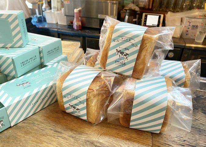 「MILK BAKERY」のパン