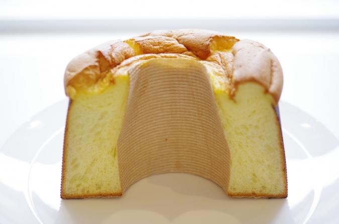 『シフォンケーキ マリィ』のシフォンケーキ