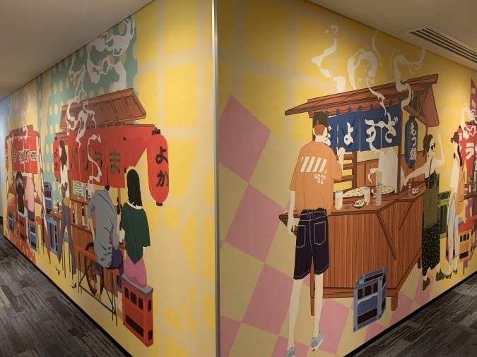 lyf Tenjin Fukuoka(ライフ天神福岡)廊下の壁紙