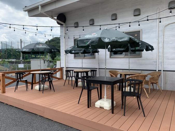 Cafe del SOL(デルソル)田川店 テラス席