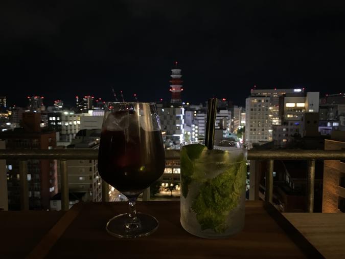 lyf Tenjin Fukuoka(ライフ天神福岡)夜景