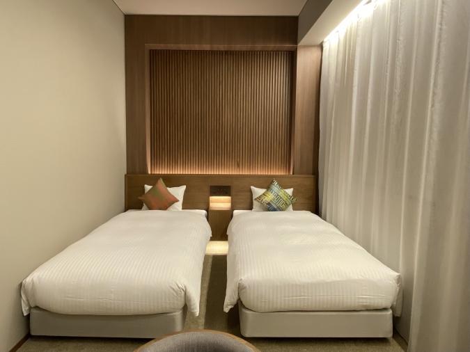 ホテル オリエンタル エクスプレス 福岡中洲川端 客室