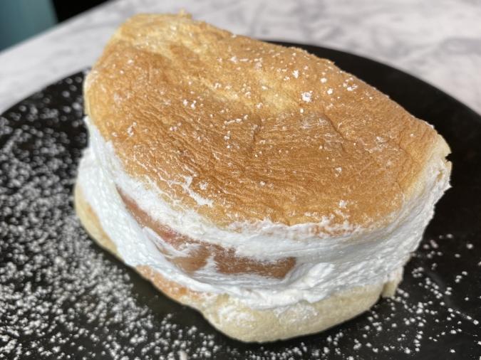 カフェCafe del SOL(デルソル)田川店 パンケーキサンド