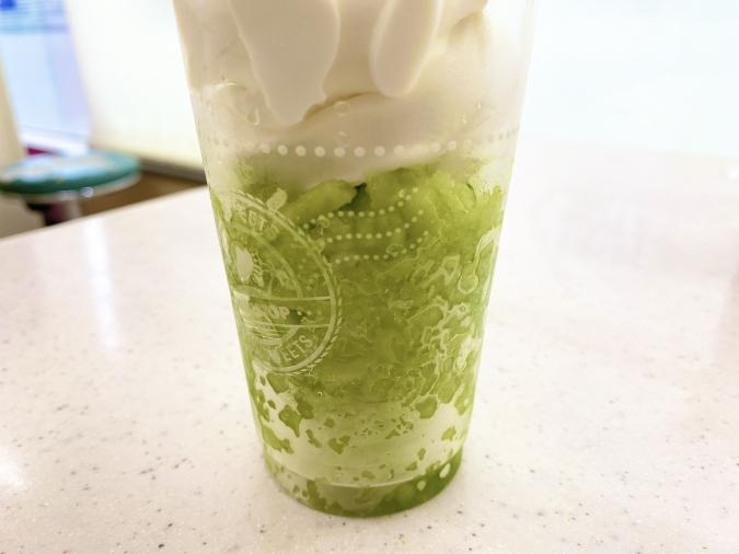 ミニストップ「ハロハロ 果実氷メロン」実食レポ