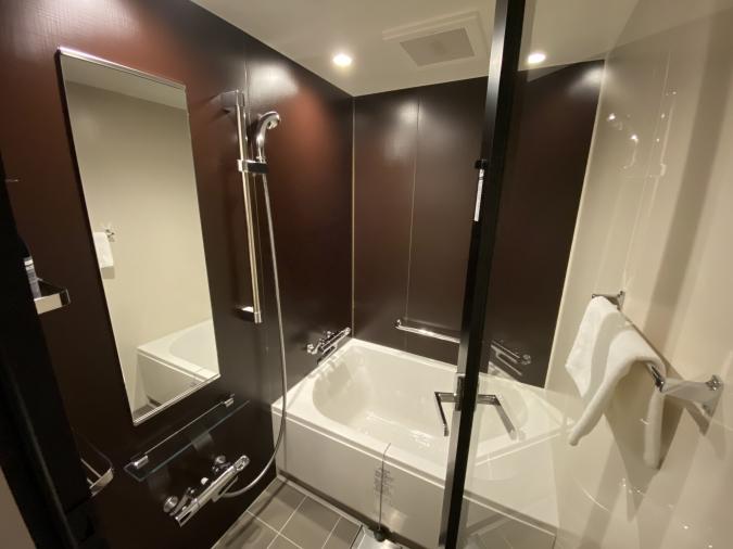 ホテル オリエンタル エクスプレス 福岡中洲川端 浴室