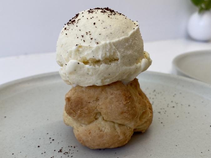 an coffee&scone(アンコーヒーアンドスコーン)スコーンキャラメルアフォガード
