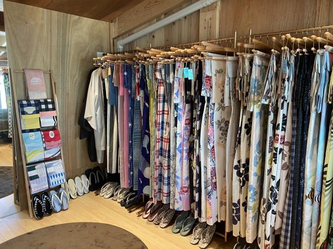 YAMATO Tsunagari gallery(やまとつながりギャラリー)大濠公園 浴衣