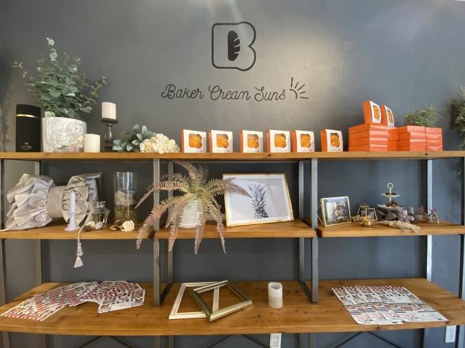 Baker Cream Suns(ベーカークリームサンズ)店内