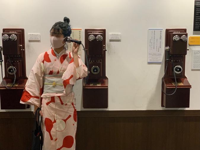 博多町家(はかたやまちや) ふるさと館 デルビル電話機