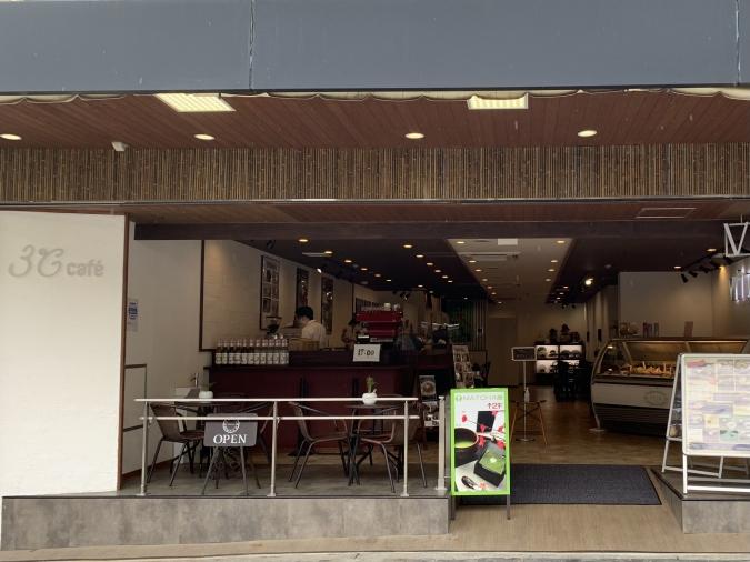 『3°C cafe(サンドウカフェ)』外観