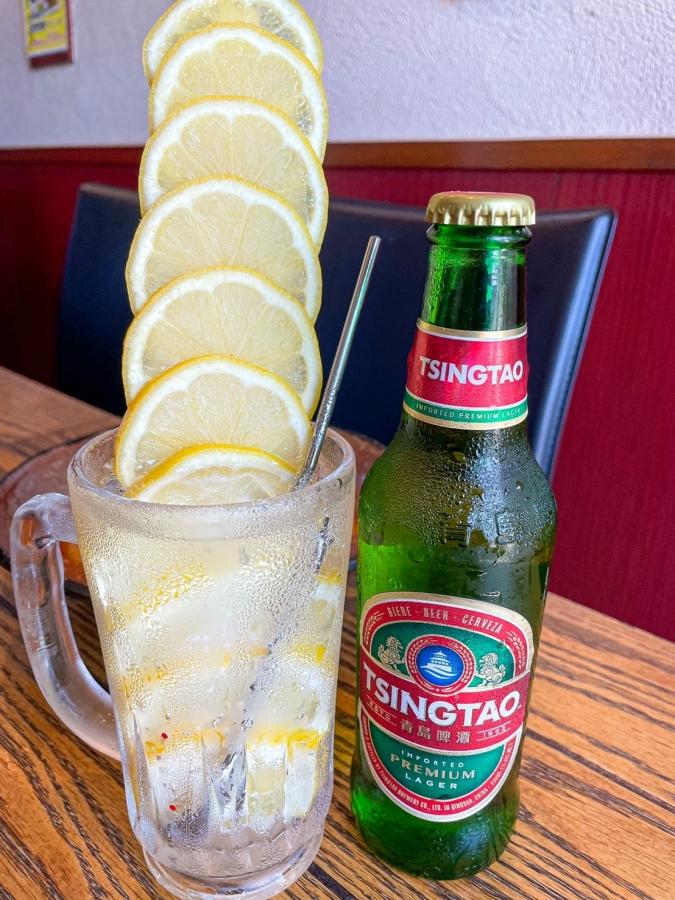 『餃子のHana87』丸ごとレモンのレモンタワー