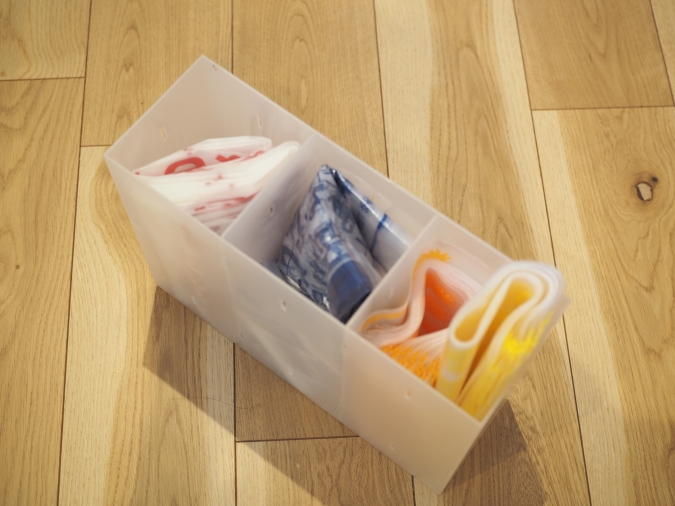 無印良品「ポリプロピレン小物収納ボックス3段」