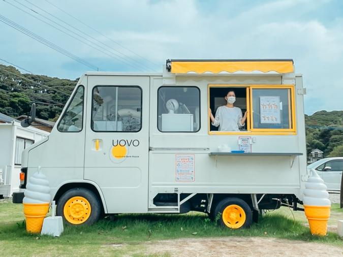 糸島ファームハウスUOVO(ウォーヴォ) キッチンカー
