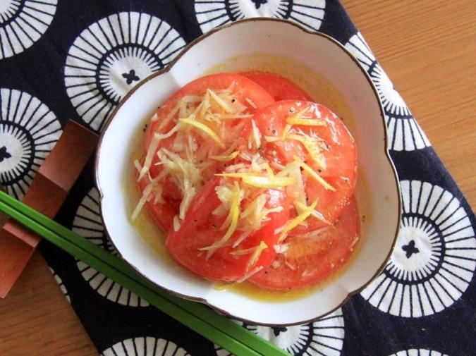 さっぱり簡単トマトマリネ