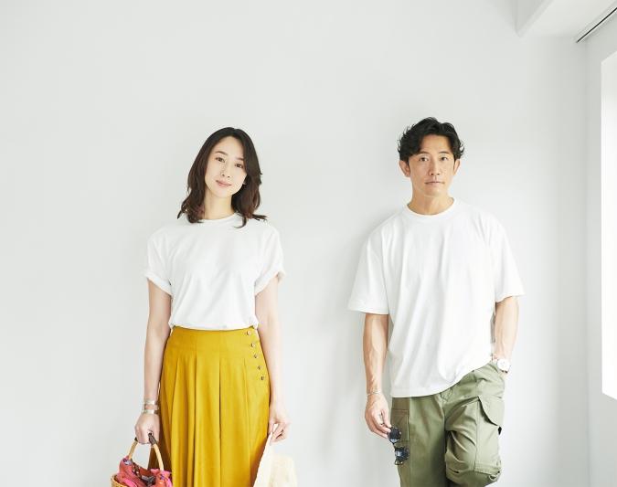 nano・universe T-Shirt 夏のおでかけコーデ