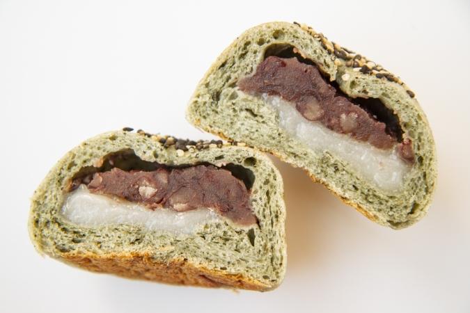 豆米(まめこめ) よもぎ餅パン