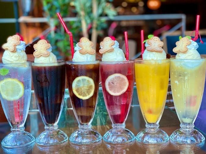 kawara CAFE&DINING FORWARD クリームソーダ