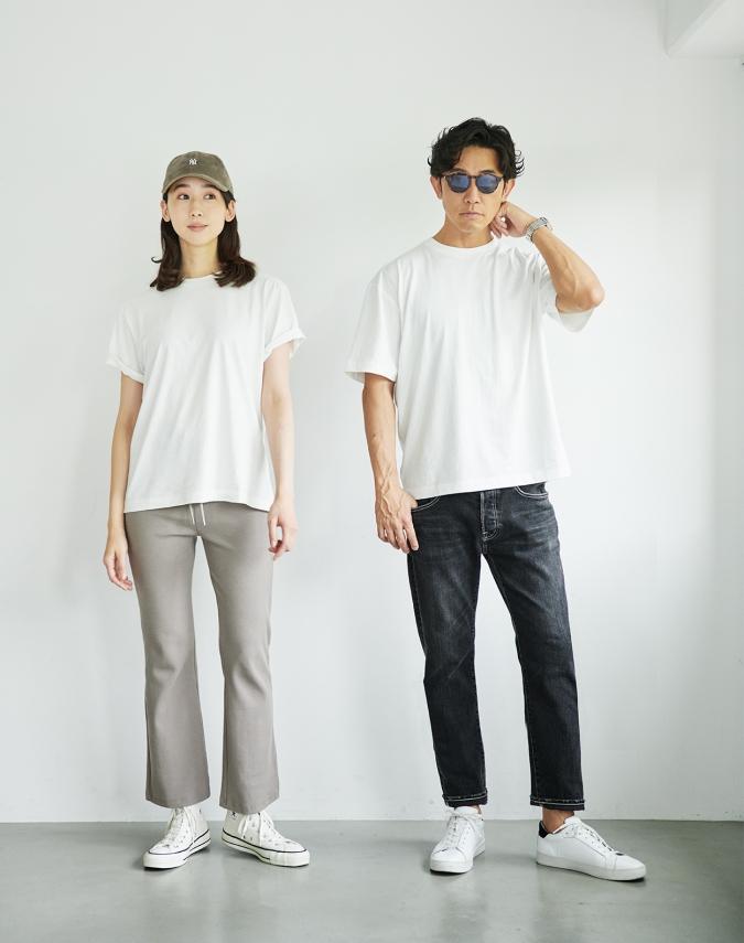 nano・universe T-Shirt 休日コーデ