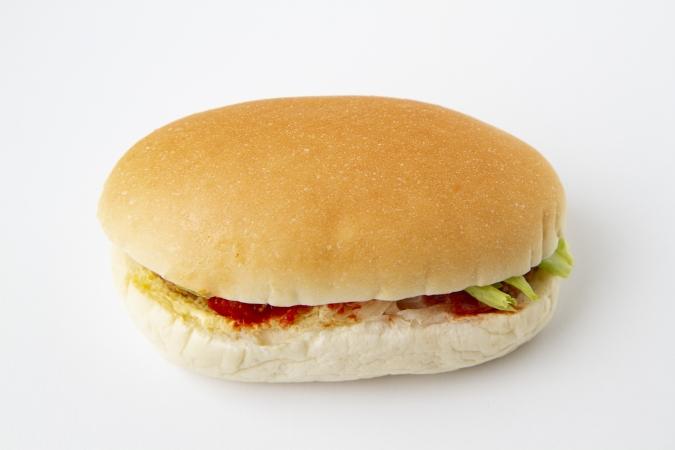 「山本パン」新発売「ハンバーグサンド」