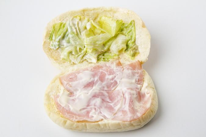 「山本パン」新発売「ハムレタス」