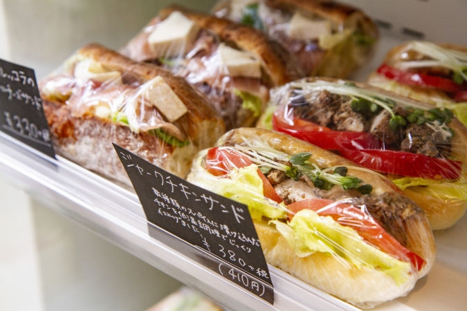 bakery ZOU(ベーカリー・ゾウ)サンド