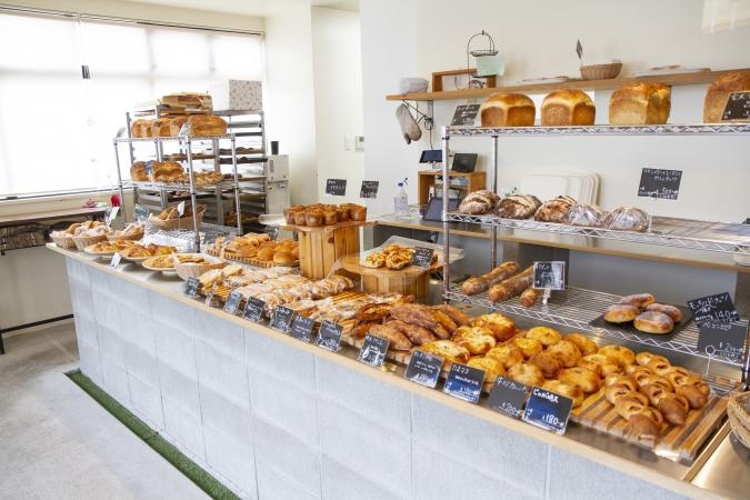 bakery ZOU(ベーカリー・ゾウ) 店内