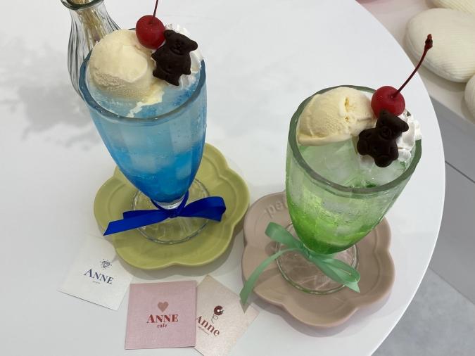 cafe ANNE(カフェアン)クリームソーダ