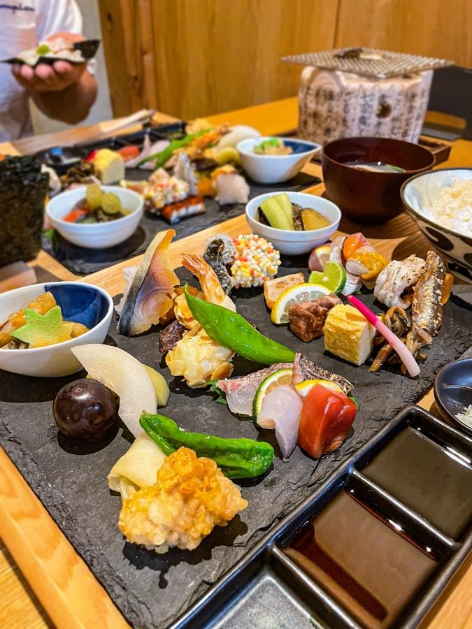『炉ばた 髙』炙り手織り寿司