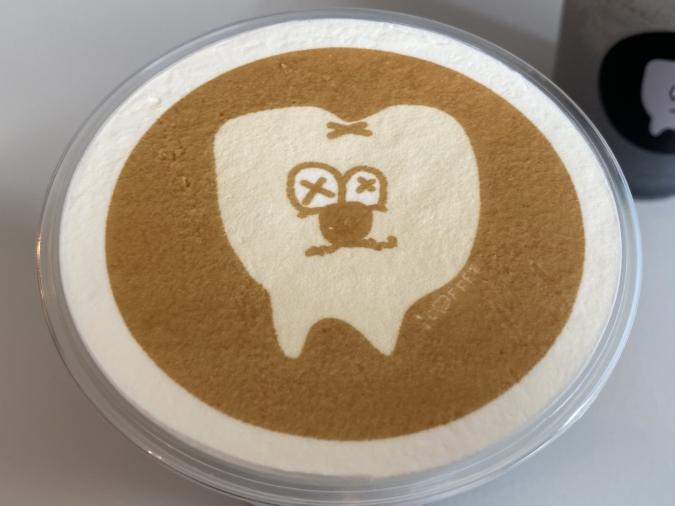 1COFFEE(ワンコーヒー) 虫歯ラテ(ホイップなし)