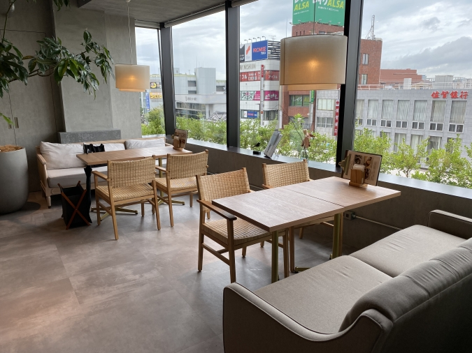 CAFEE OTTO ROOF TOP GARDEN(カフェ オットー ルーフトップ ガーデン) ソファ席