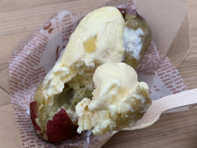 月影(つきかげ) 焼き芋アイス